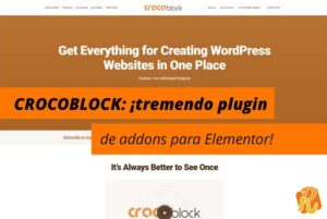 Plugin Crocoblock