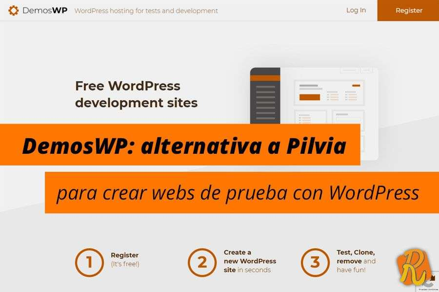 DemosWP: alternativa a Pilvia para crear webs de prueba con WordPress [Incluye vídeo]