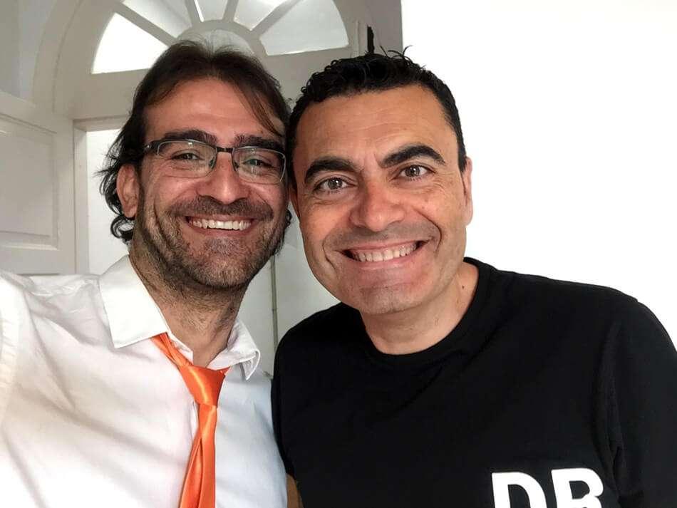 Edu Rubianes y Manolo Rodríguez
