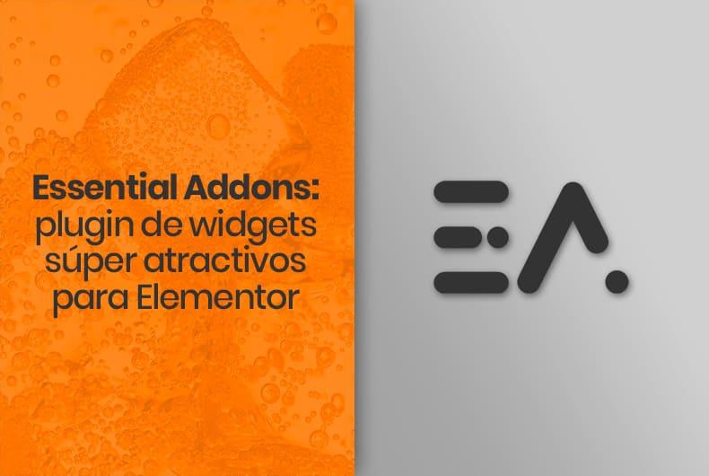 Essential Addons: plugin de widgets súper atractivos para Elementor