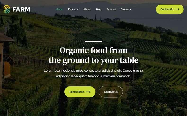 farm template