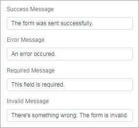 formulario mensajes