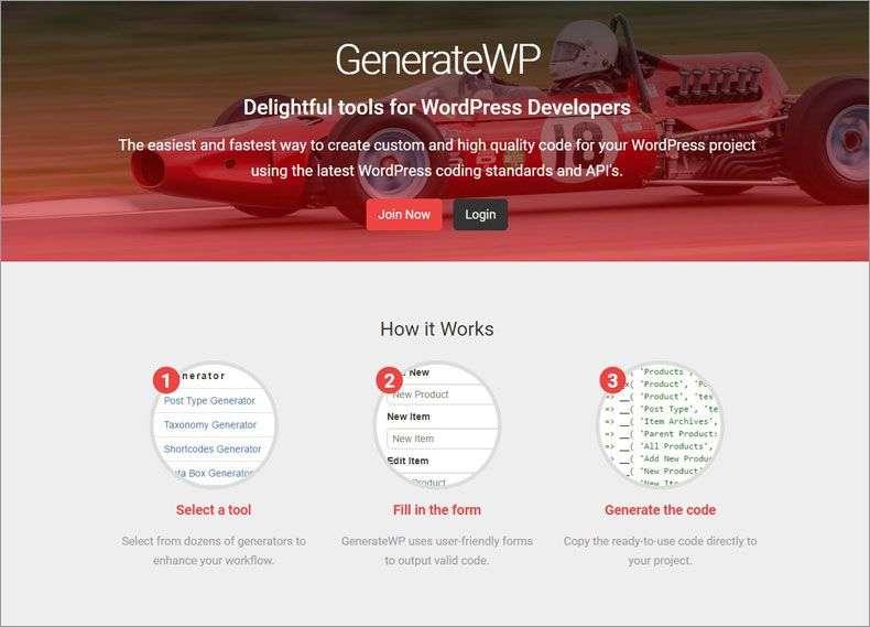 generatewp home
