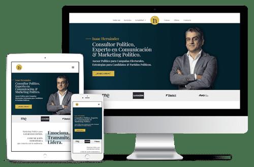 Web Isaac Hernández