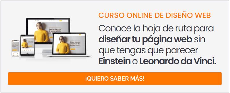 Curso de diseño de páginas web 'Emprende WEB'