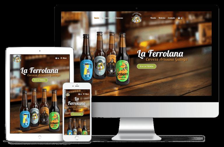 La Ferrolana - Ordenador, tablet y móvil