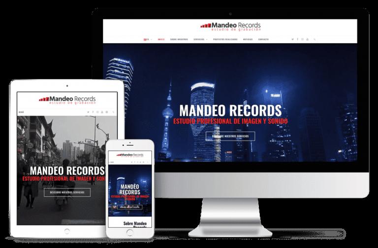 Mandeo Records - Ordenador, tablet y móvil