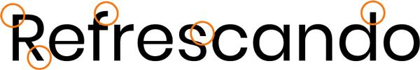 remates tipografia sans serif