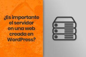 Lee más sobre el artículo ¿Es importante el servidor en una web creada en WordPress?