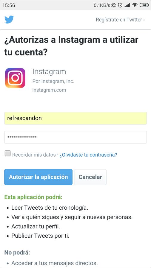 vincular instagram con facebook y twitter 11