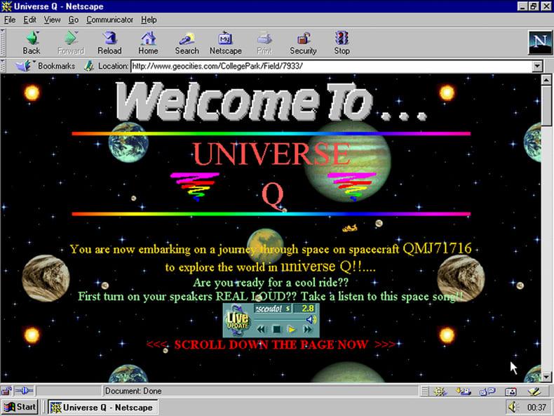 web antigua