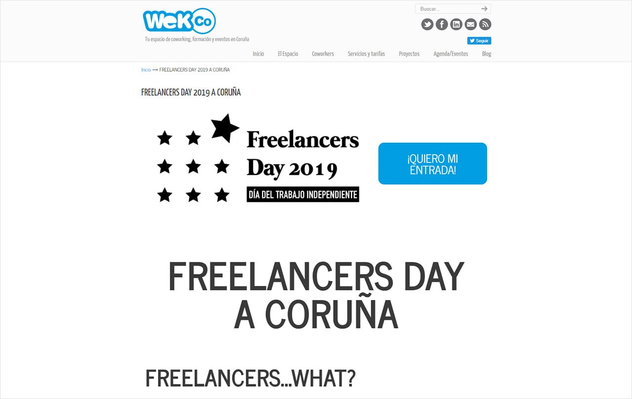 Web Freelancers Day 2019